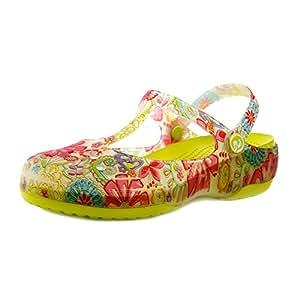 XING GUANG Wassertropfen Mary Jane Druck Loch Schuhe Schuhe Schuhe Sandalen Frauen Sommer Strand Schuhe Gelee...