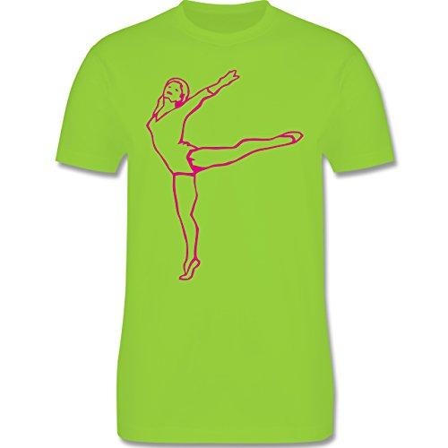 Wellness, Yoga & Co. - Rhythmische Sportgymnastik - Herren Premium T-Shirt Hellgrün