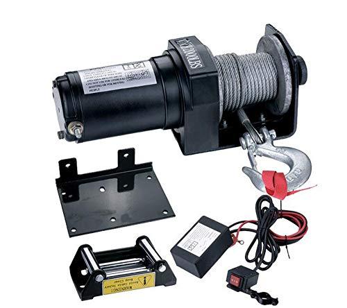 BTHDPP Elektrische Seilwinde 2000 Lb Mit Funkfernbedienung,24V
