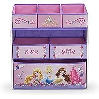 Spielzeugregal - Standregal - Aufbewahrungsregal 6 Boxen mit Motivauswahl (Princess Schmuck) preisvergleich bei kinderzimmerdekopreise.eu