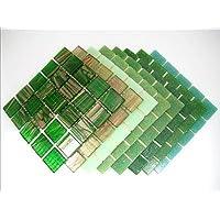 Mosaico Piastrella Miscela Trendy Verde Deluxe Miscela 200 Piastrella Mix - Mix Piastrelle