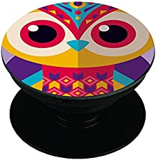 the purple tree Designer Expanding Stand and Grip Pop Holder Socket for Smartphones and Tablets (POP00124, Multicolour) - Set of 1