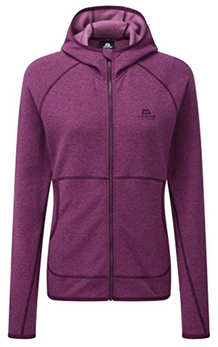 Mountain Equipment Calico giacca da donna con cappuccio, Donna, foxglove, (Arrampicata Con Cappuccio Pullover)