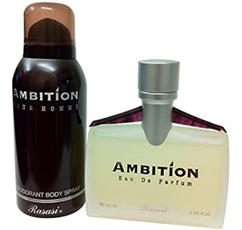 AMBITION MEN SPRAY FREE AMBITION DEO