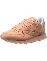 Reebok CL LTHR Spirit Zapatillas de running, Mujer