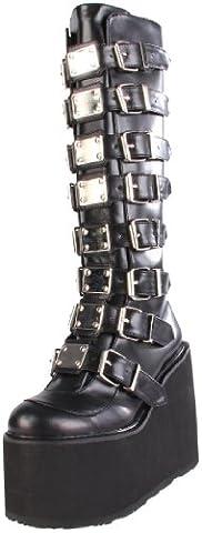 Demonia Swi815/B/Pu, Women's Ankle Boots, Black (Black), 6 UK (39 EU)