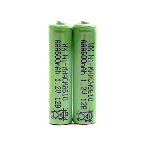 NX - Batería teléfono fijo *2 AAA 1.2V 600mAh PP - Blister(s) x 2 -