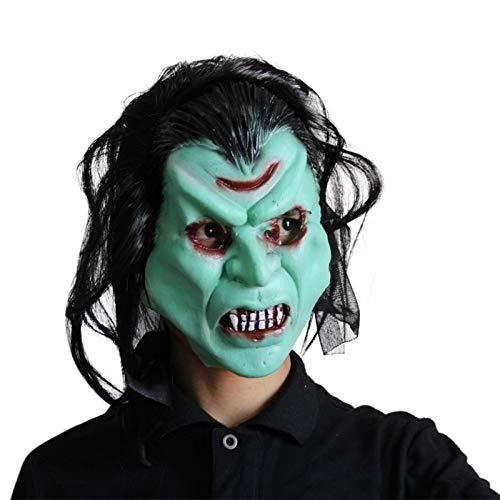 PJHGS Scary Clown MaskeHalloween MaskeCarnaval Silikon Weibliche Masken Männer Maskerade (Weibliche Scary Clown)