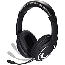 HAMSWAN Auriculares Gaming Inlambricos Cascos 2.4 Ghz HUHD Sonido Envolvente para Xbox 360,One / Ps3 / Ps4 /WII /iPhone / iPad / PC / MAC / TV Con Micrófono Desmontable Soportado Interfez USB 2.0/ 1.0/ 1.1 (Si conecta con Xbox One, necesita un adaptador o kenit )
