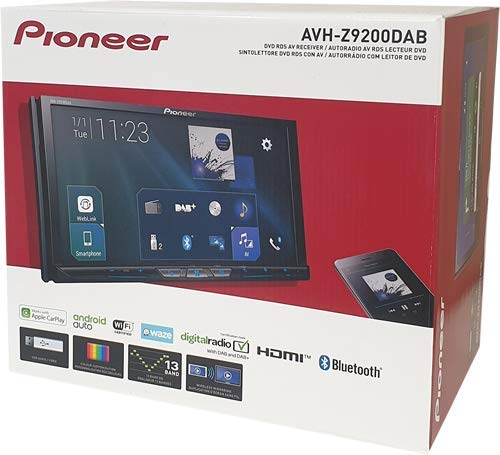 Pioneer AVH-Z9200DAB, WLAN, Apple CarPlay, Android Auto Dual Electronics Auto-subwoofer