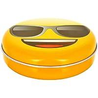 Promobo Aufbewahrungsbox Pillendose leer Westentaschenformat Décor Piktogramm Emoji Lünette preisvergleich bei billige-tabletten.eu
