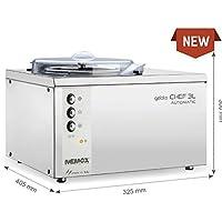 Nemox turbina de hielo GELATO Chef 3L Automatic