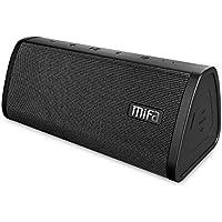 MIFA Altavoz Bluetooth, 10W con 2200 mAh Batería Li-ion y Tecnología TWS y DSP, IP45 Impermeable y Anti-Polvo con Entrada el Audio de 3,5 mm, Tarjetas Micro SD y Micrófono Incorporado para iPhone, iPad, Samsung, Nexus, HTC, Laptops, Negro