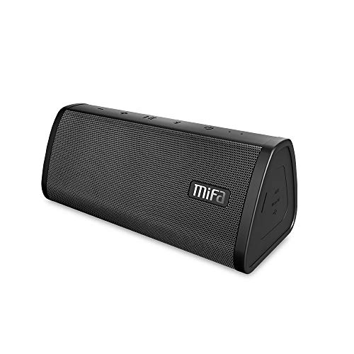 MIFA A10 Lautsprecher Bluetooth Soundbox tragbar 10W, IP45 Wasserfest Technologie TWS DSP - 3,5mm Audio-Eingang Wireless Speaker, Micro SD-Karten, eingebautem Mikrofon für iPhone iPad Samsung Huawei