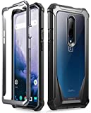 POETIC OnePlus 7 Pro Rugged Clear Case, Full-Body Hybrid