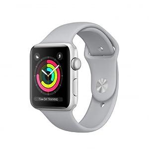 Apple Watch Series 3 OLED GPS (satélite) Plata reloj inteligente - Relojes inteligentes (OLED, Pantalla táctil, GPS (satélite), 18 h, 32,3 g, Plata)