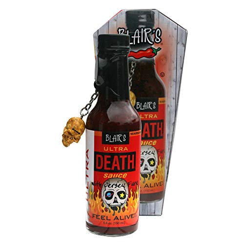 Blair's Death Sauce- Ultra Death, 1er Pack (1 x 150 ml Flasche) (Hot Extrem Scharf Sauce)