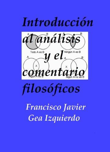 Introducción al análisis y el comentario filosóficos
