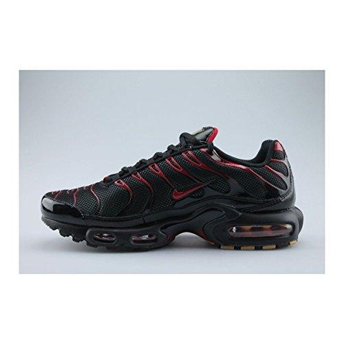 Nike ,  Herren Sneaker Schwarz - Schwarz/Rot