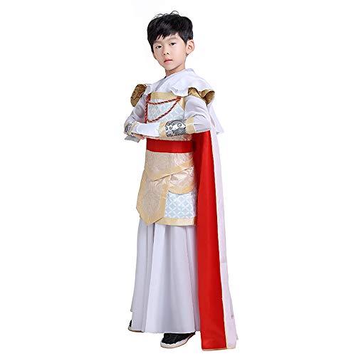 Chenyang86 Hanfu - im chinesischen Stil Kostüme Generäle Uniformen Mantel Kostüme Kleidung (Farbe : Red, größe : 150cm)
