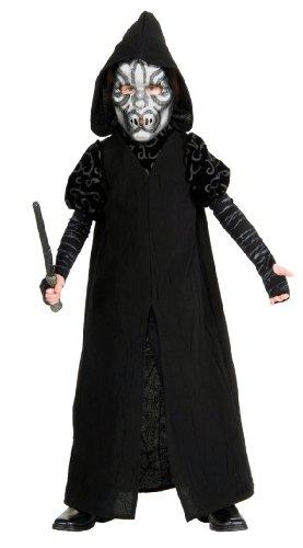 r Deluxe Kinderkostüm - M-128cm (Todesser Kind Kostüme)