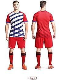 5e72b6e76845a LQZQSP Equipo De Entrenamiento De Fútbol De Camisetas De Fútbol para Hombre  Uniformes De Equipo Camiseta Deportiva…