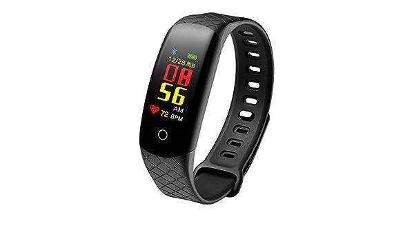 Montre Chiffre Arabe Montre Connectée Femmes, Running Tracker dactivité, Podomètre IP67 de Bracelet de Traqueur de Forme Physique de Montre Intelligente de ...