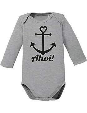 Ahoi Anker - Bio Baby Langarmbod