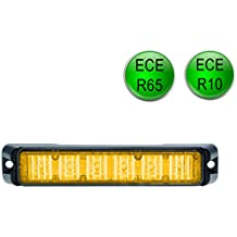 orange LED-MARTIN R65 Freeway Frontblitzer 18W Schwertransport Stra/ßenr/äumer