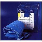 Manufacturas Gre FPR451 - Liner para piscinas redondas, Ø460 cm altura 120 cm, color azul