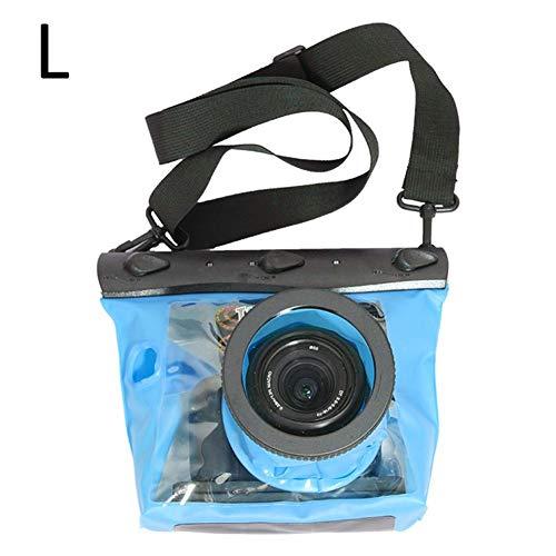 iBaste_S Custodia Impermeabile per Fotocamera Subacquea Custodia Impermeabile per Fotocamera HD SLR in PVC D90 (18-200) / D700 (18-200, 28-300) / D800 (4-70)