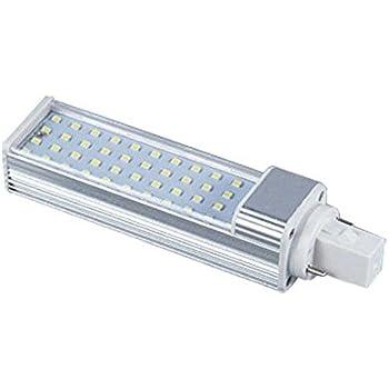 Kingnew - Bombilla LED G24 de enchufe horizontal de 9 W 2835 SMD, luz de