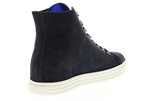 HOGAN REBEL Chaussures femmes espadrilles R182 HXW1820X330FFY090S Bleu