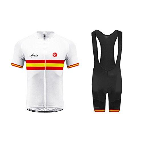 Imagen de burningbikewear uglyfrog mens ciclismo jersey team ciclismo ropa jersey bib shorts kit camisa de secado rápido ropa al aire libre de la bicicleta selección nacional gqz04