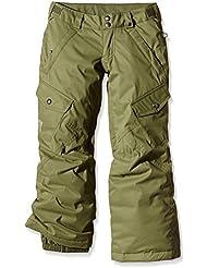 Burton Carg Elite - Pantalones de snowboard para niña, niña, color Verde - Algae, tamaño S