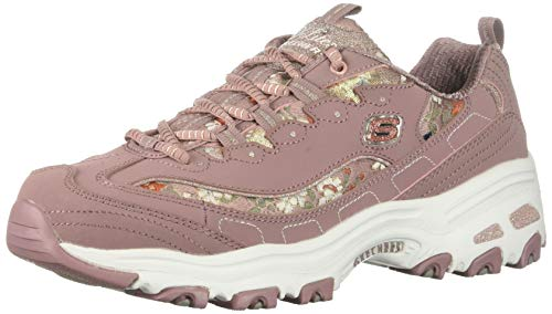 atómico Circulo parásito  Skechers D'Lites Shoes Floral Days Trainers 13082 Womens Memory Foam Chunky  Shoes hotelhrpalace.in