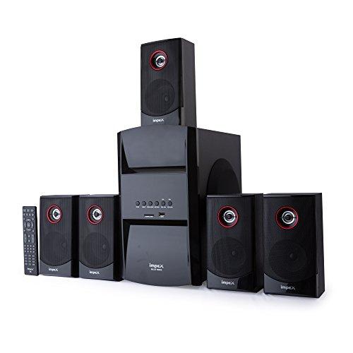 Impex 5.1 BLUE ROCK 140 W Multimedia Bluetooth Speaker System (Black)