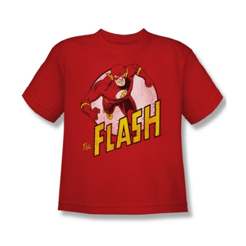 Dc Comics - Die Flash-Jugend T-Shirt in Rot Red