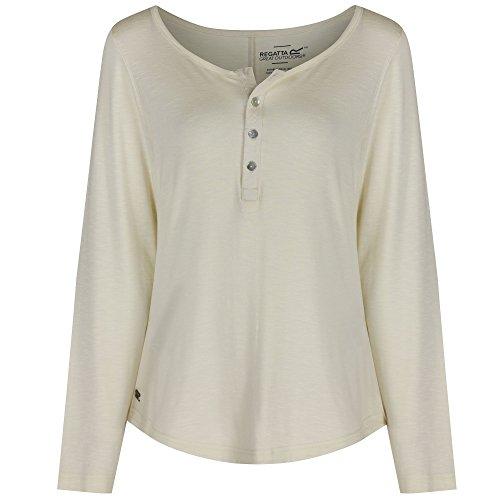 Regatta Womens/Ladies Nolany Stretch Rayon Blend Soft Polo Shirt Weiß