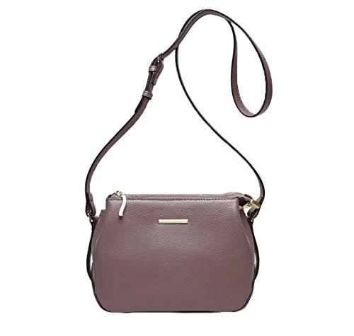 Borsa Da Donna Bag Guscio Pacchetto Estate Borsa Tracolla In Pelle Messenger Bag Purple