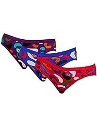 Softskin Women's Bikini Panties (Pack of 3)