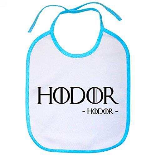 Babero Juego de Tronos Hodor - Celeste