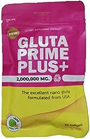 Gluta Primme 2000000mg Whitening - 30 Softgels (New Improved Formula)