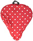 Best Bike Seat Covers - Basil Rosa Bicycle Adult Saddle Cover - Red/white Review
