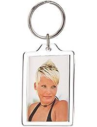 Hama Petit Porte-clés acrylique Pour des mini photos d'un format de 2,8 x 4,3 cm