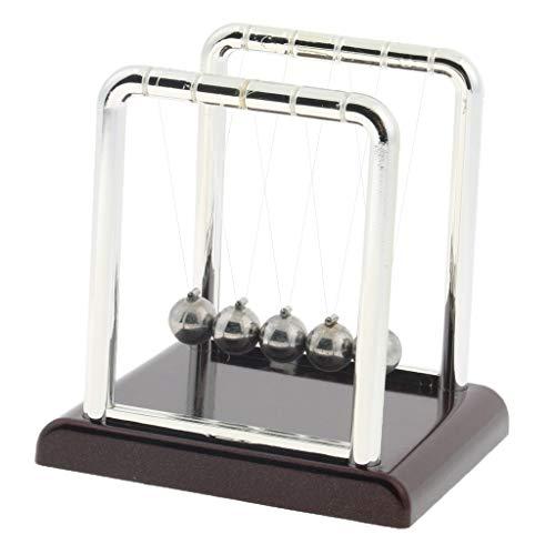 Sharplace giocattolo pendolo scienza sfere quadrato culla newton regalo bambini studenti scuola - grande