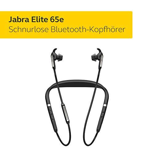 Jabra Elite 65e Wireless Stereo ANC in-Ear-Kopfhörer (Bluetooth, professionelles Active Noise Cancellation, Nackenbügel, Sprachsteuerung für Alexa, Siri und Google Assistant) titan schwarz - 2