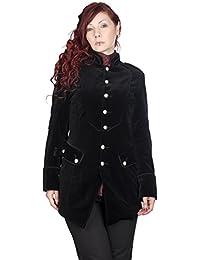 Aderlass Ladys Army Coat Velvet