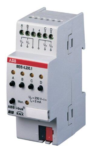 ABB 8301665 - SEA / S4 24 1 EIB / KNX ENTRADA BINARIA  4 COMPARTIMENTOS  24V  REG