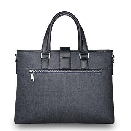 Handtaschen-Schulter-Beutel-Kurier-Beutel-Aktenkoffer-Männer Der Beiläufigen Computer-Beutel-Einkaufstasche Der Männer Männer Der Männer Der Männer Grayblue